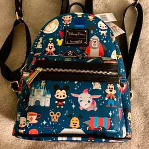 🆕 Loungefly Disney Parks Minis Mini Backpack
